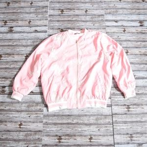 Jackets & Blazers - Embroidered Bomber